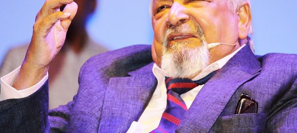 V. S. Naipaul in Dhaka, 2016, Faizul Latif Chowdhury (CC BY-SA 4.0) via Wikimedia Commons