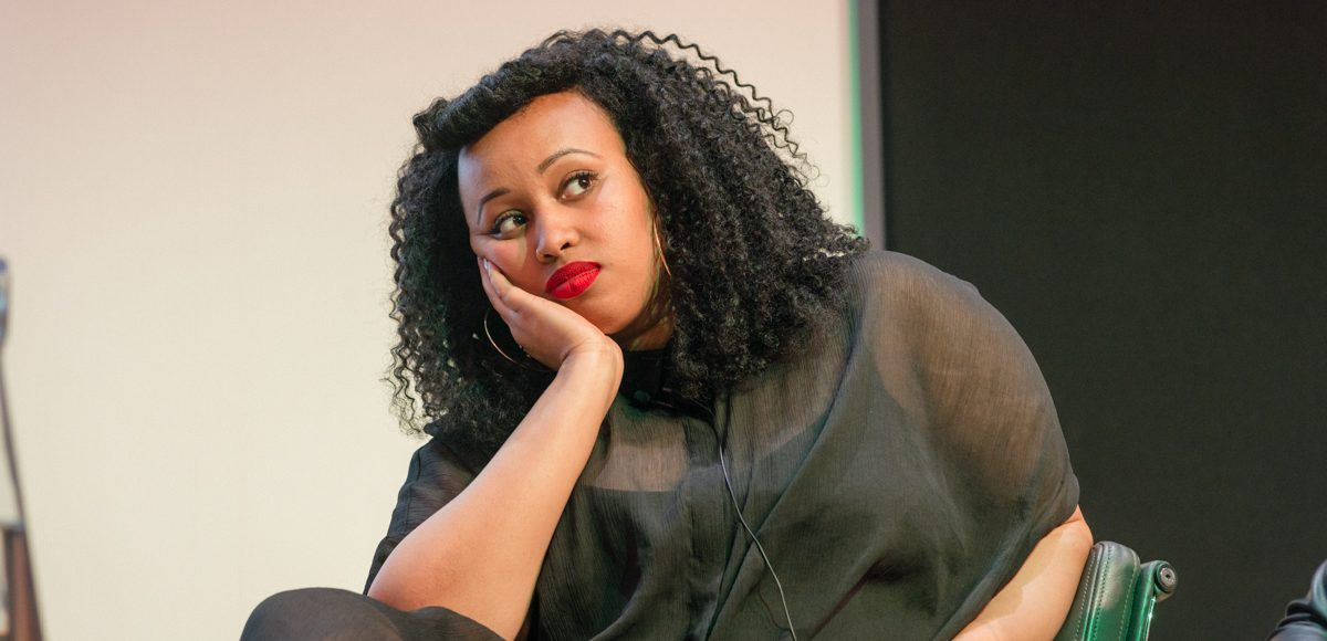 Warsan Shire, 'Reclaiming the Feminine Voice', 2014, Yves Salmon (CC BY-NC-ND 2.0) via Flickr