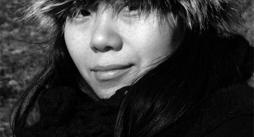 Xiaolu Guo in Europe, 2008, Matt Spark (CC BY-SA 3.0) via Wikimedia Commons