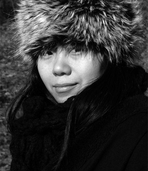 Xiaolu Guo in Europe, 2008, Matt Spark (CC BY-SA 3.0) via Wikimedia Commons
