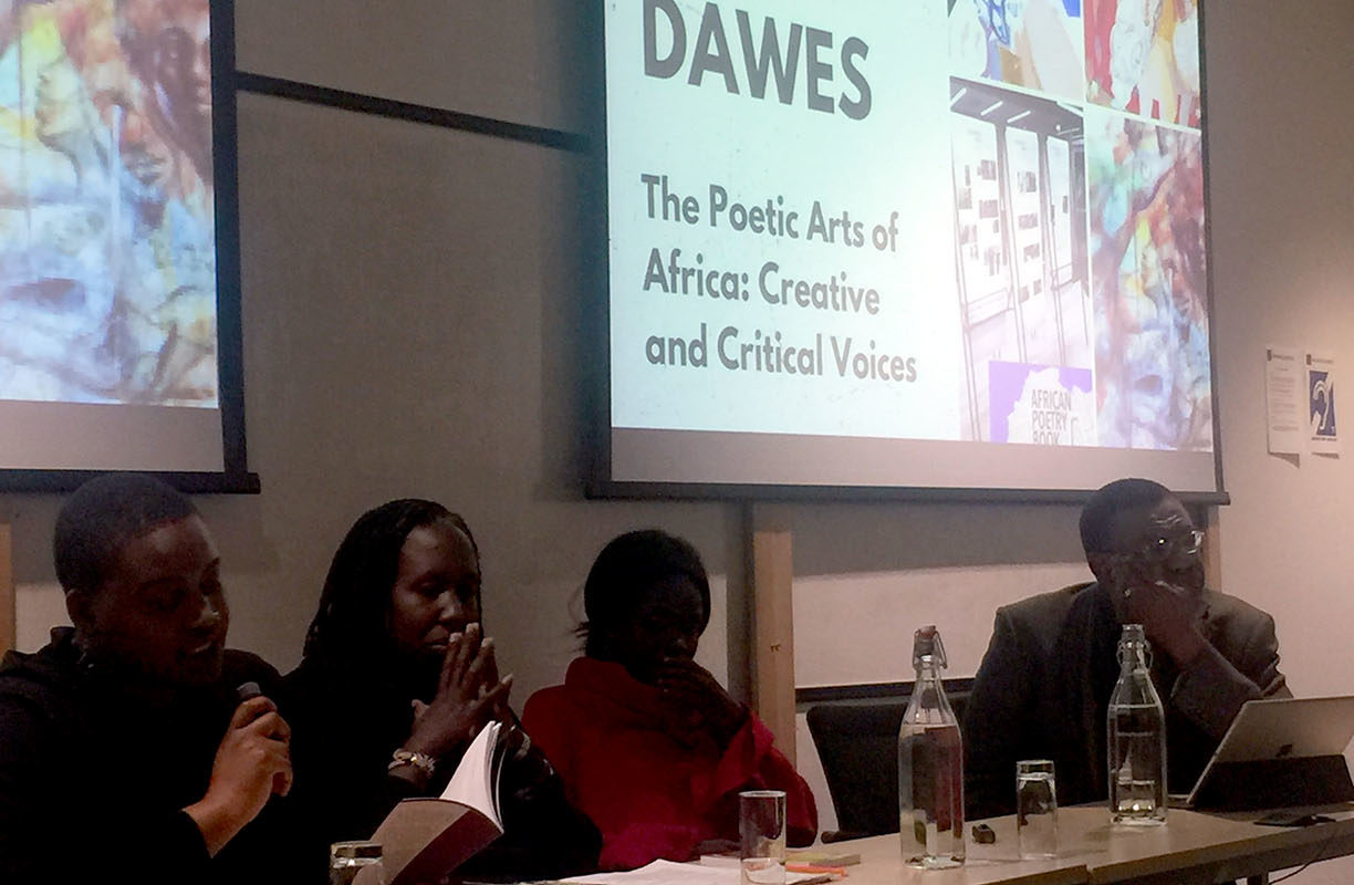Kwame Dawes in Oxford