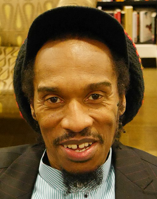 Benjamin Zephaniah, Waterstones, Piccadilly, London, 6 December 2018