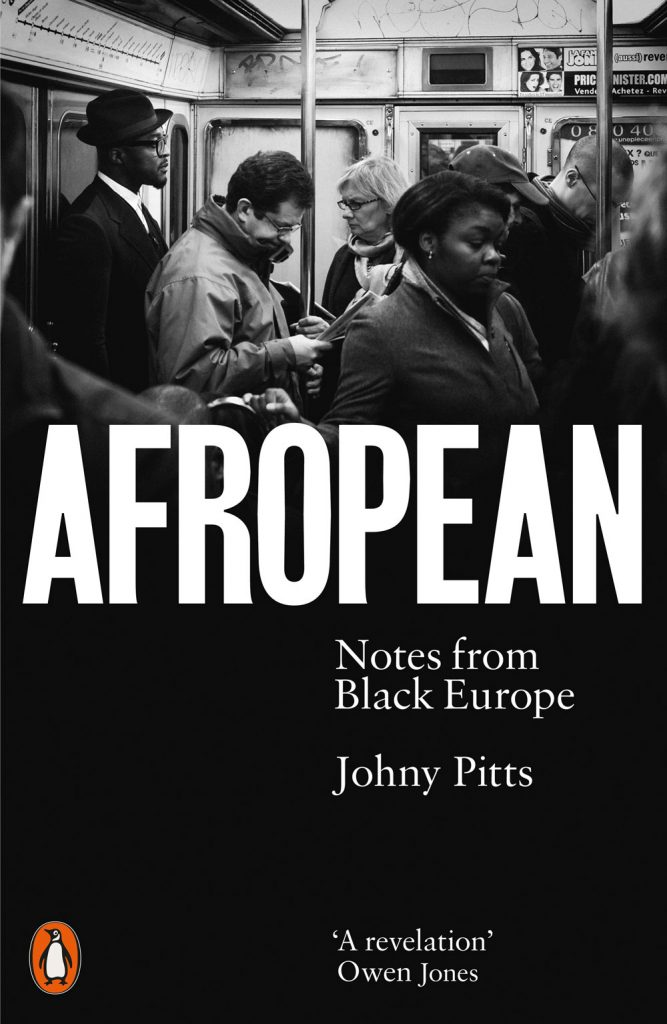 The cover of Johny Pitts's Afropean