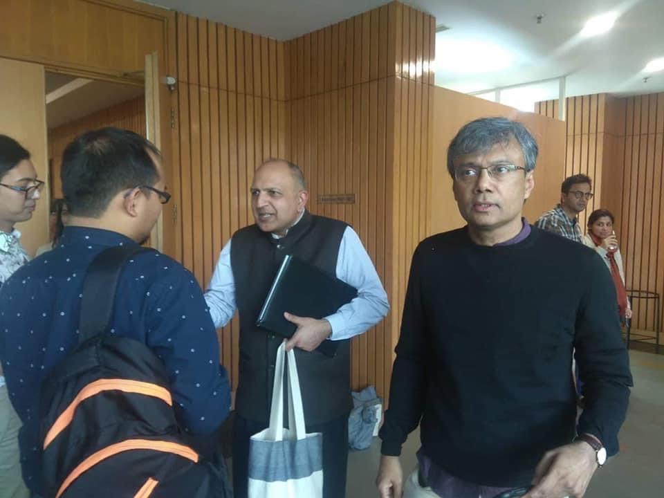 Pratap Bhanu Mehta and Amit Chaudhuri, Literary Activism Symposium 2020