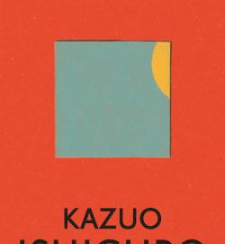 Orange cover image of Kazuo Ishiguro's novel, Klara and the Sun
